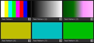 color pattern generator ultra 4k tool box omnitek