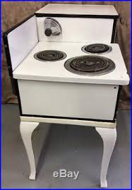 Antique Electric 1920s Hot Point Automatic Stove Oven RA46 Cast