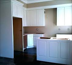 kitchen crown moulding ideas adding crown molding to kitchen cabinets homehub co