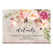floral wedding invitations u0026 announcements zazzle com au
