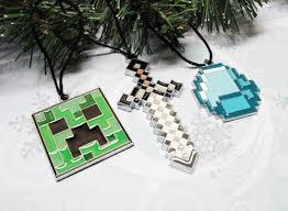 ornaments minecraft personalized minecraft creeper