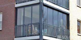 balkon glasscheiben glas falttüren mit aluminium rahmen