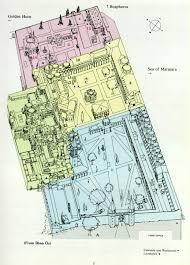 the plan of topkapi palace