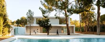 Pool House Fran Silvestre Arquitectos U0027 Pine House In The Woods In Valencia