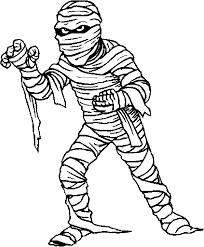 egypt coloring pages mummy egyptian mummy halloween mummy child