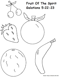 fruit of the spirit coloring pages throughout of page ffftp net