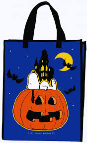 snoopy halloween reusable trick or treat bag snoopn4pnuts com