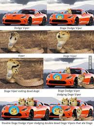 Doge Meme Car - doge dodge viper doge know your meme