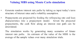 Mortgage Rate Estimate by Mortgage Loans And Mortgage Backed Securities Mortgages A Mortgage
