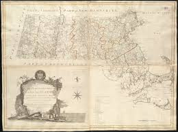 Map Of Massachusetts by An Accurate Map Of The Commonwealth Of Massachusetts Exclusive Of