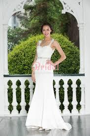 ivory lace top u0026 peplum and mermaid satin skirt modern wedding