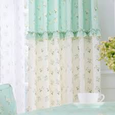 Thermal Cafe Curtains Aliexpress Com Buy Cafe Curtains Blackout Drape Curtains Rustic