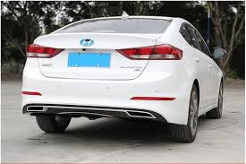 rear bumper hyundai elantra aliexpress com buy for elantra rear spoiler abs rear bumper