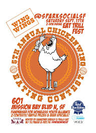 funny beer cartoon eat trill fest u0026 wing wing u0027s 5th annual chicken wing eating
