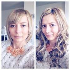 hair extensions for thinning bangs before and after photos illusions color spa st louis mo
