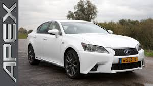 lexus sedan line lexus gs300h f sport line review 2015 youtube