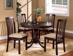small espresso dining table square kitchen table for small dining room and chairs sink set