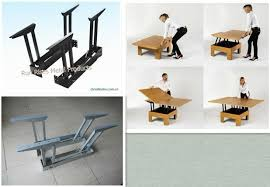 Flip Up Coffee Table Ultimate Pop Up Coffee Table Mechanism For Interior Home Designing