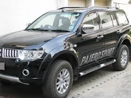 my mitsubishi pajero sport black mt 4x4 team bhp