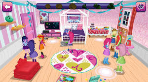 equestria girls virtual world games 3d