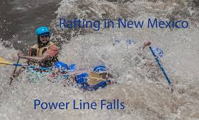rafting in new mexico u0026 power line falls youtube