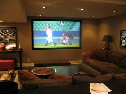 living exciting living room theaters design with large screen