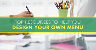 menu design resources the top resources to help you design your own menu blog