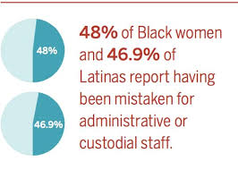 black and latina women scientists sometimes mistaken for janitors