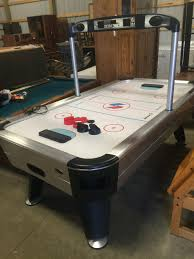 Www M37auction Com Sportcraft Turbo Air Hockey Table W Accessories