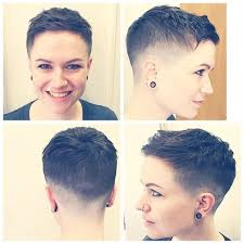butch haircuts for women tapered pixie butch hair cuts pinterest pixies haircuts and