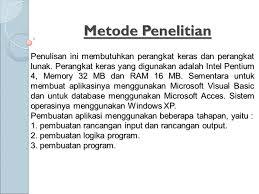 membuat database sederhana menggunakan xp aplikasi penerimaan murid baru sdn mekarsari 06 menggunakan
