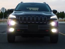 2014 Jeep Cherokee Hid Kit And Led Bulb Installation Jeep Garage