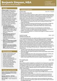resume exles for executives executive cv exles and template