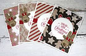 how to make easy christmas cards at home i teach stamping