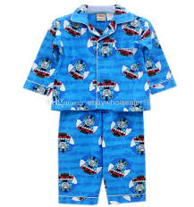 children pajamas boy boys sleeve flannel winter