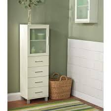 Linen Cabinet For Bathroom Linen Tower Bathroom Cabinets Storage For Less Overstock