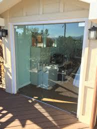 Exterior Doors San Diego Half Inch Glass Exterior Doors Patriot Glass And Mirror San