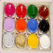 12 flash tattoo color gold face body paint oil painting art make