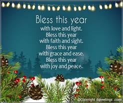 bless this year with and light new year wishes