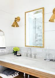 Mixing Metals In Bathroom Savvy Southern Style Mixing Metals