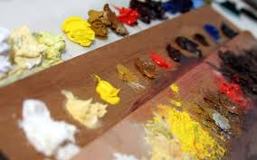 the essentials of oil painting the color palette youtube