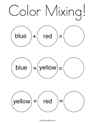 colors perfect coloring pages color coloring