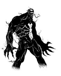 pretty good blog warm up sketch venom