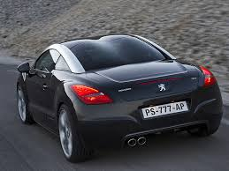 peugeot rcz peugeot rcz crazy bubble roof french cars pinterest