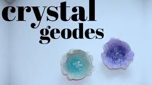how to make geodes using eggshells youtube