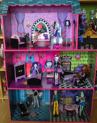 Monster High Doll House Furniture My 3 Monster House Jan Unwichtig Flickr