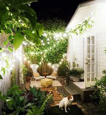 Courtyard Designs by A Cottage Small On Space And Big On Design Savvy Backyard