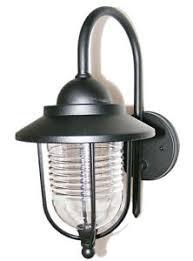 outdoor garden fishermans wall lantern black light lights outside
