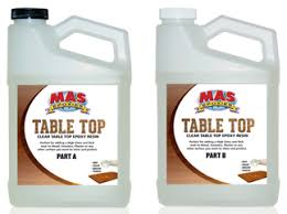 pro marine supplies table top epoxy mas epoxies 30 270 epoxy table top clear 2qt kit seattle marine