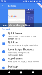 action launcher quickthemes one touch customization for your